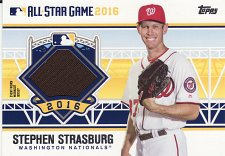 Buy 2016 Topps Update All-Star Stitches #SS - Stephen Strasburg - Nationals