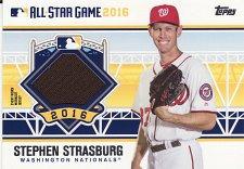 Buy 2016 Topps Update All-Star Stitches #SS - Stephen Strasburg - Nationals