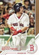 Buy 2017 Topps Salute #S-92 - Andrew Benintendi - Red Sox
