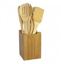 Buy Oceanstar 7 Piece Bamboo Cooking Utensil Set