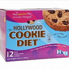 Buy Hollywood Diet Miracle Products, Cookie Diet Meal Replacement, Oatmeal Raisin