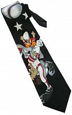 Buy JTI Bugs Bunny Looney Tunes Baseball With Taz Yosemite Sam BLACK Novelty Neck Tie