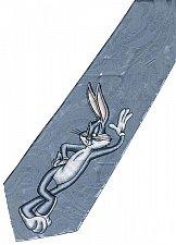 Buy JTI Bugs Bunny Looney Tunes Pose Sexy SILVER Novelty Neck Tie