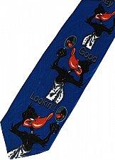 Buy JTI Daffy Duck Looney Tunes Hey Good Looking BLUE Novelty Neck Tie