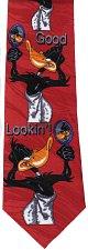 Buy JTI Daffy Duck Looney Tunes Hey Good Looking Novelty Neck Tie