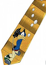 Buy JTI Daffy Duck Looney Tunes Play Golf Yellow Novelty Neck Tie