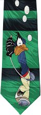 Buy JTI Daffy Duck Looney Tunes Play Golf Novelty Neck Tie