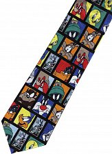 Buy JTI Looney Tunes Marvin Roadrunner Bugs Bunny Taz Yosemite Sam BLACK Neck Tie