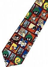 Buy JTI Looney Tunes Marvin Roadrunner Bugs Bunny Taz Yosemite Sam RED Neck Tie