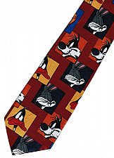 Buy JTI Sylvester Pussycat Daffy Duck Bugs Bunny Looney Tunes Novelty Neck Tie