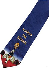Buy JTI Sylvester Pussycat Find Tweety Bird Looney Tunes Novelty Neck Tie