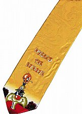 Buy JTI Sylvester Pussycat Find Tweety Looney Tunes YELLOW Novelty Neck Tie
