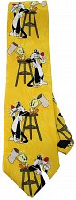 Buy JTI Sylvester Pussycat Tweety Bird Looney Tunes Hammer Novelty Neck Tie