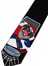 Buy JTI Tasmanian Devil Taz Looney Tunes Goalkeeper Novelty Neck Tie