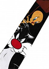 Buy JTI Tweety Bird Hammer Sylvester Pussycat Looney Tunes Novelty Necktie