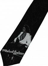 Buy JTI Michael Jackson MJ Super Star Singer King of Pop #2 Novelty Neck Tie