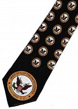 Buy JTI Great Seal of the United States Washington DC Army Coat of Arms Novelty Necktie