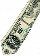 Buy JTI Money USA 100 Dollars Banknote Fancy Novelty Neck Tie