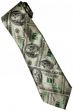 Buy JTI Money USA United States Banknote 100 Dollars Many Fancy Novelty Neck Tie