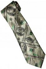 Buy JTI Money USA United States Banknote 100 Dollars Many Fancy Novelty Neck Tie