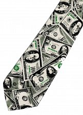 Buy JTI Money USA United States Banknote Fancy Novelty Neck Tie