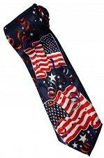 Buy JTI Patriotic American Flag #8 Novelty Necktie