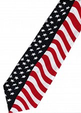 Buy JTI Patriotic American Flag 2 Novelty Necktie