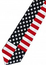 Buy JTI Patriotic American Flag 3 Novelty Necktie