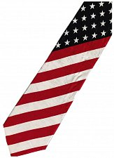 Buy JTI Patriotic American Flag 4 Novelty Necktie