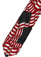 Buy JTI Patriotic American Flag 5 Novelty Necktie