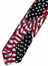 Buy JTI Patriotic American Flag 7 Novelty Necktie