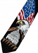 Buy JTI Patriotic American Flag Eagle White House Novelty Necktie