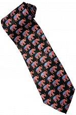 Buy JTI Patriotic American Flag Elephant Animal Novelty Necktie