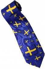 Buy JTI Patriotic Sweden Flag Novelty Necktie