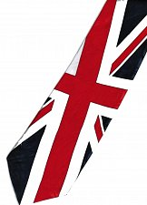Buy JTI Patriotic UK Britain United Kingdom Flag 2 Novelty Necktie