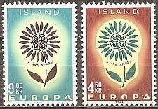 Buy Iceland: Europa/CEPT (1964), MNH, Complete Set