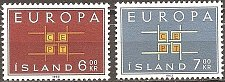 Buy Iceland: Europa/CEPT (1963), MNH, Complete Set