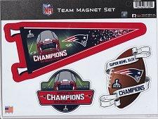 Buy New England Patriots Super Bowl XLIX Champions Team Magnet Set