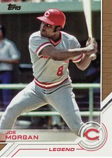 Buy 2017 Topps Salute #S-56 - Joe Morgan - Reds