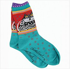 Buy Laurel Burch Super Soft Quality Cozy Cat Socks