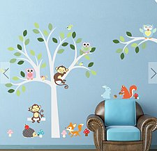 Buy animals WALL STICKER CHILDREN 21