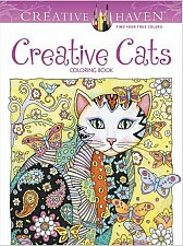 Buy Creative Haven Creative Cats Coloring Book