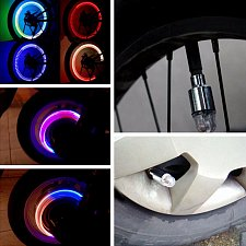 Buy Neon Valve Firefly Spoke LED Light Lamp Bicycle Cycling Car Tyre Wheel