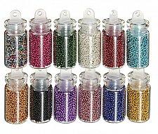 Buy 12 bottles nail art decoration
