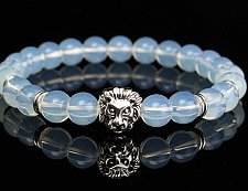 Buy LION Head opal beads bracelet