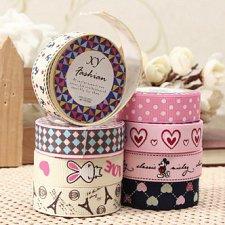Buy 2 rolls fabric ribbon tape