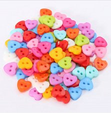 Buy 100pcs resin buttons sewing accessories