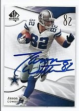 Buy NFL Jason Witten Dallas Cowboys SuperStar Autographed Nfl Collectors Card Mnt