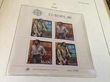 Buy Portugal Europa 1980 SS mnh