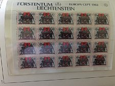 Buy Liechtenstein Europa 1982 sheets mnh